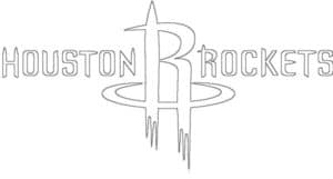 Coloriage Logo de Houston Rockets