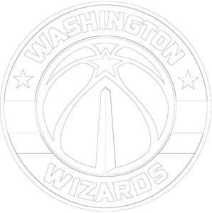Coloriage Logo des Wizards de Washington