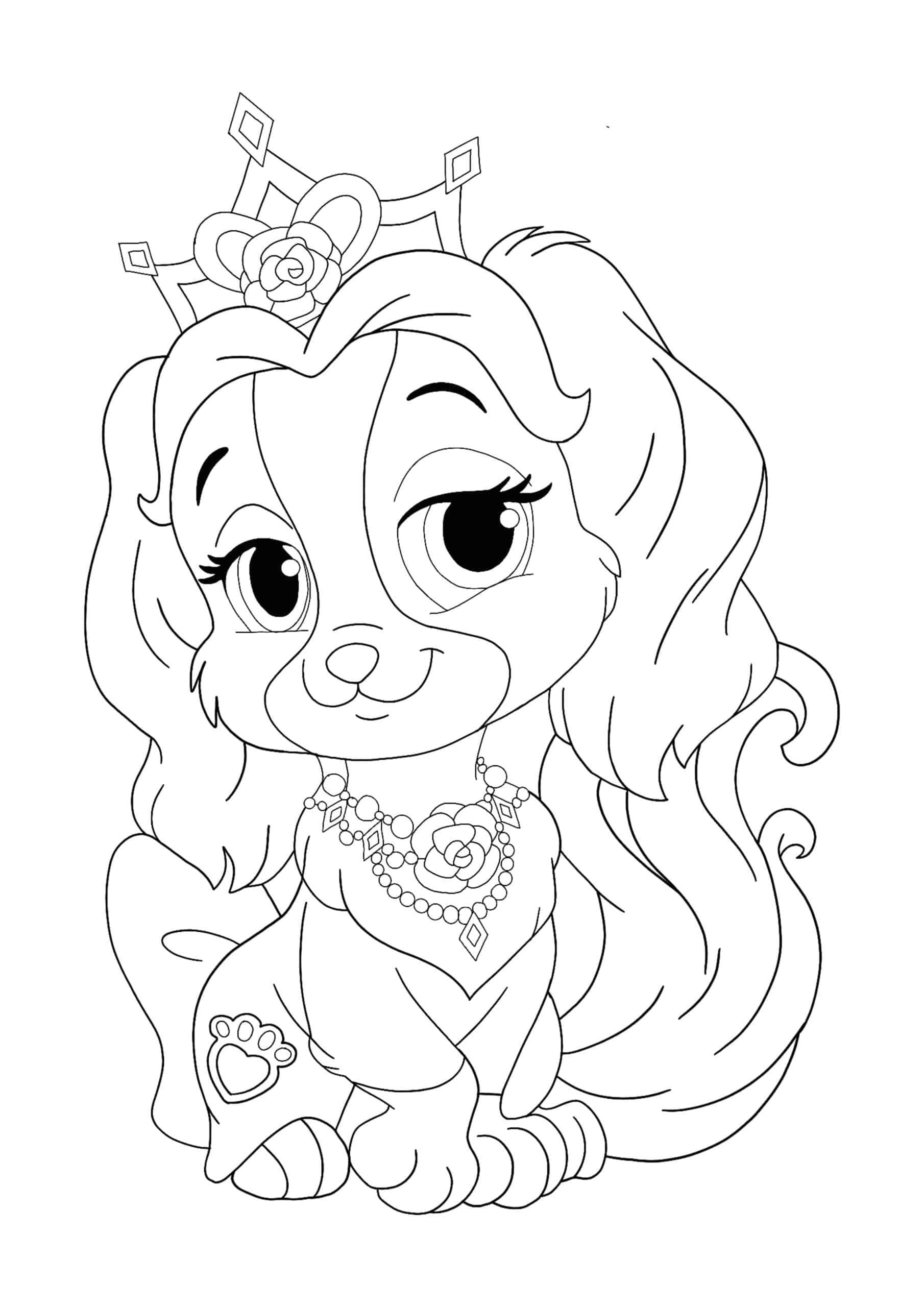 Disney Princess Palace Pets Teacup coloring page