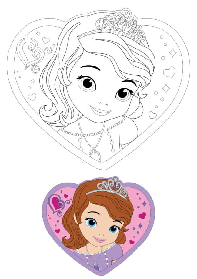 Coloriage En Ligne Princesse Sofia the First