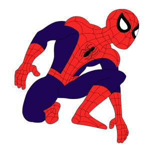 Coloriage Spiderman